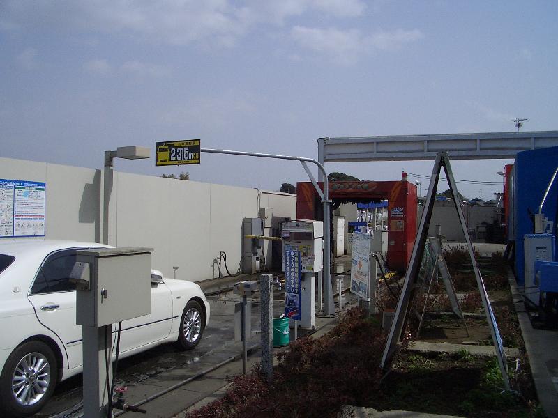 ノンブラシ 洗車 大阪