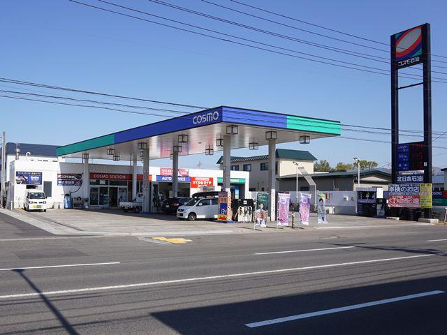 ガソリンスタンド コスモ石油 東青森駅通りSS / 北日本石油(株)