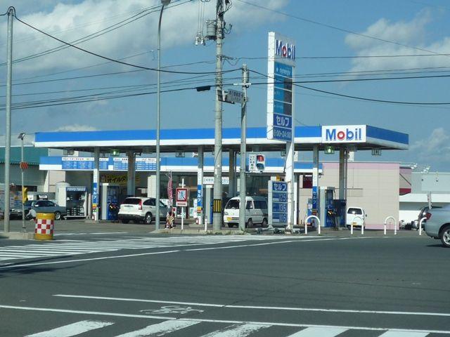 ガソリンスタンド Mobil 黒石インターセルフSS / (有)須藤善石油店