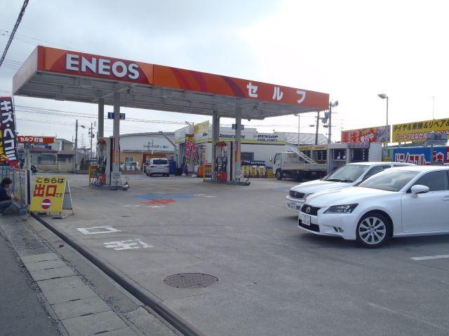 ガソリンスタンド ENEOS Dr.Drive セルフ仁井田店 / (株)EFリテール東北