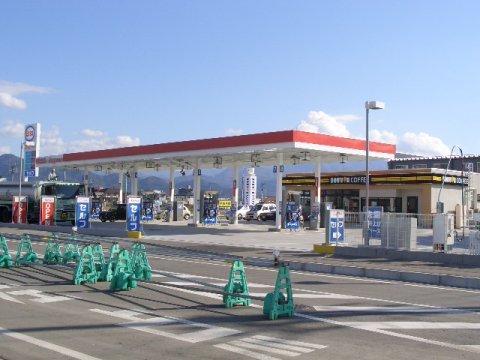 ガソリンスタンド ESSO Express嶋SS / 日米商事(株)