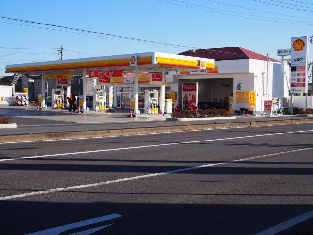 ガソリンスタンド 昭和シェル石油 セルフ佐野赤坂町SS / (有)高山石油