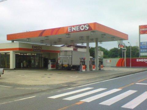 ガソリンスタンド ENEOS 船尾SS / 林屋商会