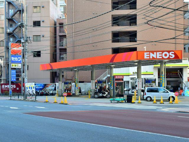 ガソリンスタンド ENEOS Dr.Drive セルフ西芝浦SS / (株)サントーコー