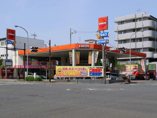 ガソリンスタンド ENEOS スーパーステーションNT茅ヶ崎SS / (株)MIC