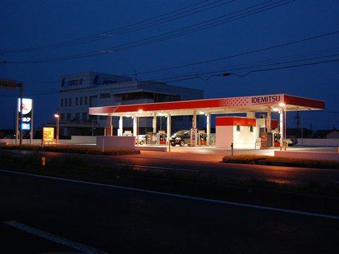 ガソリンスタンド 出光 セルフ黒埼SS / (株)ナカザワ