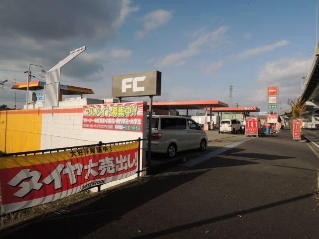 ガソリンスタンド ENEOS 41号名犬小牧SS / (株)西日本宇佐美