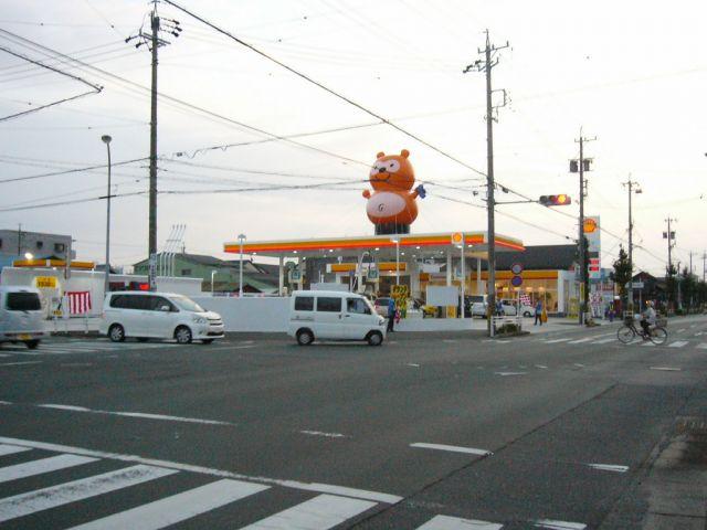 ガソリンスタンド 昭和シェル石油 セルフ大堀SS / エザキ(株)