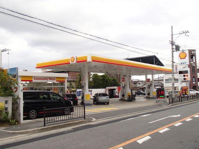 ガソリンスタンド 昭和シェル石油 東豊中SS / (株)シェル石油大阪発売所
