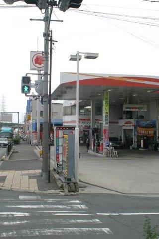 ガソリンスタンド 出光 大東北SS / 川本産業(株)
