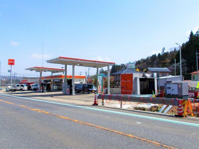 ガソリンスタンド ENEOS 新赤名SS / 松江石油(株)
