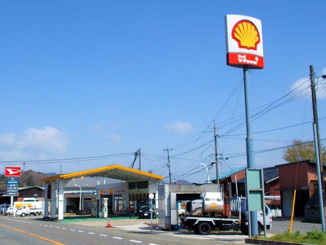 ガソリンスタンド 昭和シェル石油 衣掛SS / 赤名石油
