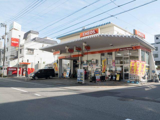 ガソリンスタンド ENEOS 高知駅前SS / 四国石油(株)