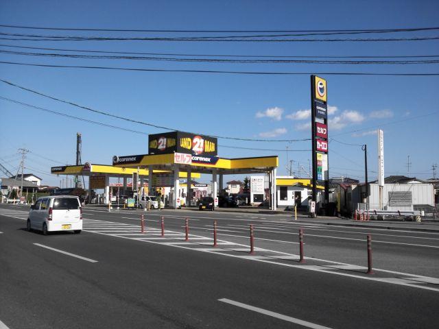 ガソリンスタンド carenex ランドマークセルフSS / (有)ランドマーク
