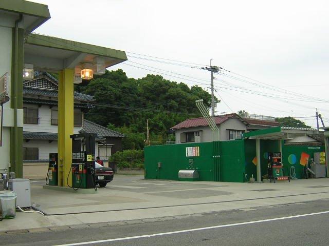 ガソリンスタンド ENEOS 鬼池SS / (株)五和商事